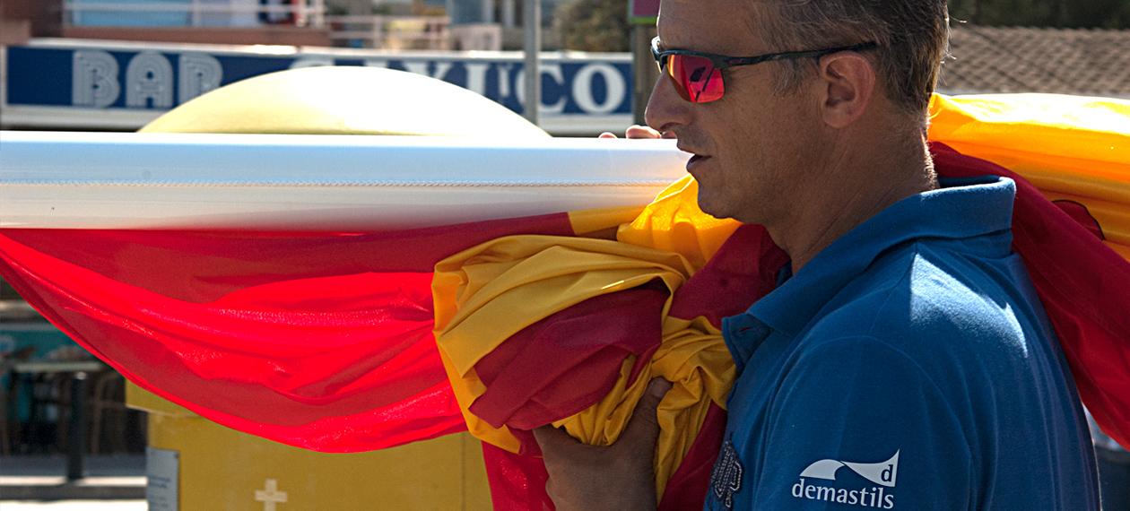 Demastils Banderas y Mástiles Baleares Banner 2 Image