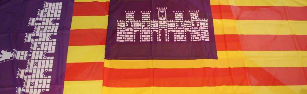 Bandera de Mallorca Demastils Banderas , mástiles y soportes publicitarios. Nuestras Banderas
